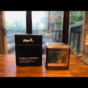 Avon Eyes Cream & Free clique It Compact
